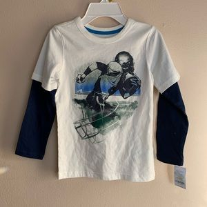 NWT long sleeve boys top